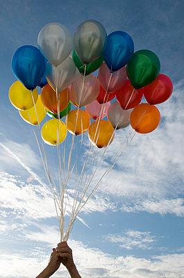 Balloons - p451m949633 by Anja Weber-Decker