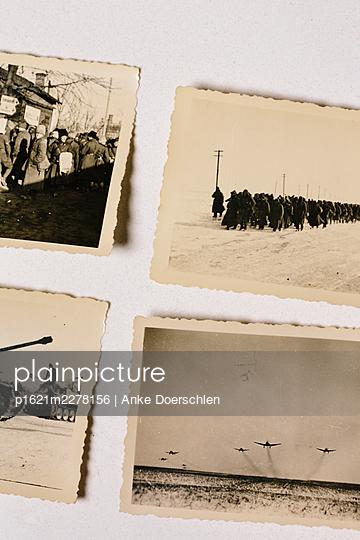 Four old war photos - p1621m2278156 by Anke Doerschlen