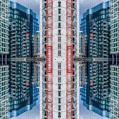 Abstract Architecture Kaleidoscope Boston - p401m2221898 by Frank Baquet