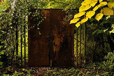 Rostige Tür - p470m886213 von Ingrid Michel