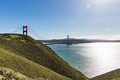 Golden Gate Bridge - p756m1200401 von Bénédicte Lassalle