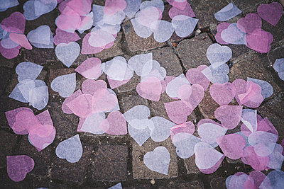 Wedding hearts - p1150m1201626 by Elise Ortiou Campion