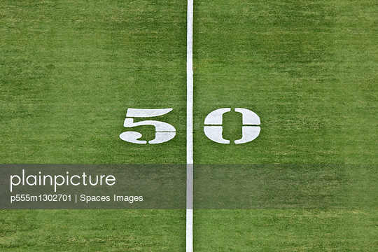 50 Yard Line - p555m1302701 by Spaces Images