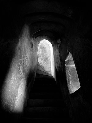 Stone Stairs - p1189m1059700 by Adnan Arnaout