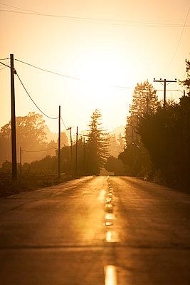 Road marking - p552m823086 by Leander Hopf