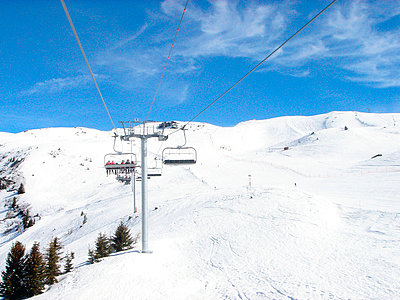 Chair lift - p5677923 by Norma Ericsson