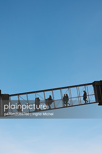 Gangway to the ferry - p470m2089760 by Ingrid Michel