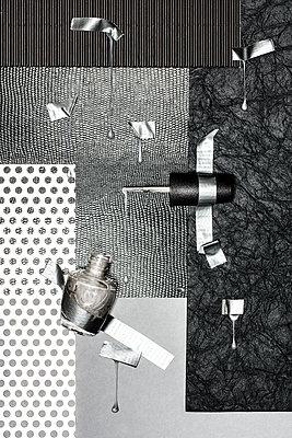 Nail polish and adhesive tape - p710m1475398 by JH