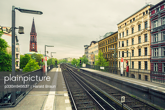 Station in Berlin - p330m949537 by Harald Braun