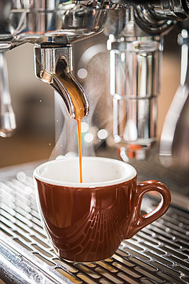 Espresso machine - p954m1131909 by Heidi Mayer