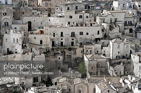View of Matera, Basilicata, Italy - p1256m2177858 by Sandra Jordan