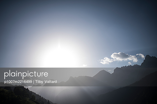 France, Aravis mountains  - p1007m2216499 by Tilby Vattard