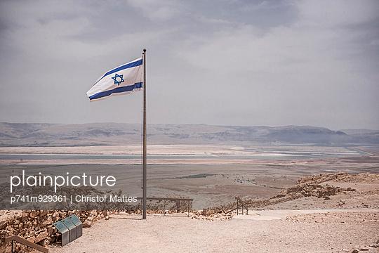 Historische Festung Masada - p741m929361 von Christof Mattes