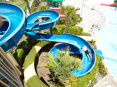 Water slide and pool - p913m1538455 by LPF