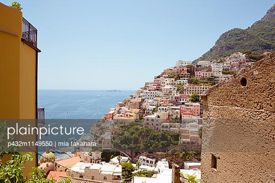 Schöne Aussicht in Positano - p432m1149550 von mia takahara