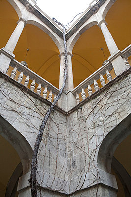 Atrium of a buidling in Spain - p7750126 by angela pfeiffer