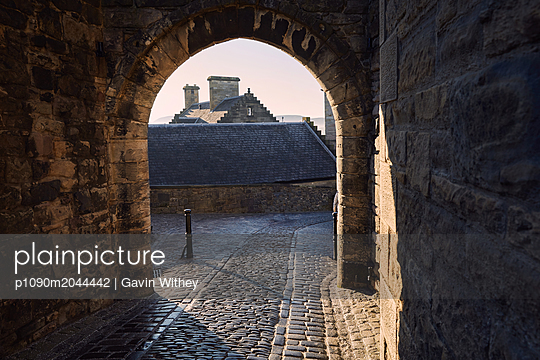Edinburgh Castle - p1090m2044442 von Gavin Withey