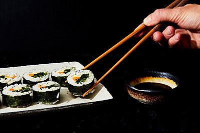 Sushi - p1384m1476827 von Evi Abeler