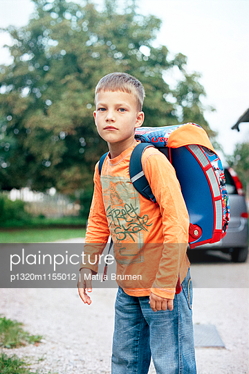 Erster Schultag - p1320m1155012 von Matija Brumen
