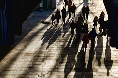 Pedestrians in London - p1445m2148351 by Eugenia Kyriakopoulou
