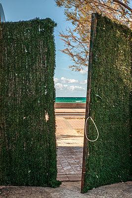 Open gate - p1021m2262399 by John-Patrick Morarescu