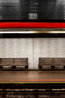 Subway station - p1280m1148509 by Dave Wall