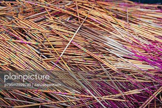 Burnded incense sticks - p795m2229740 by JanJasperKlein