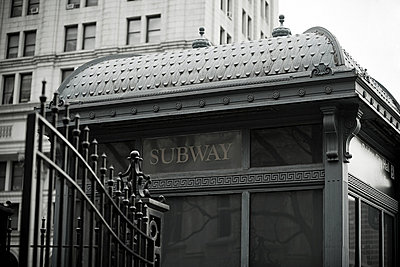 New york subway station - p9244068f by Image Source