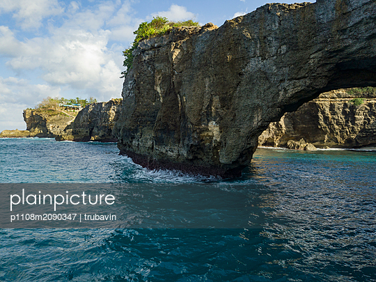 Natural arch - p1108m2090347 by trubavin