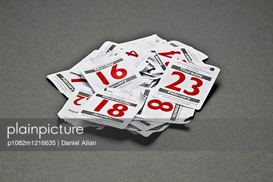 Kalenderblätter - p1082m1216635 von Daniel Allan