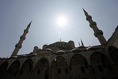 Blaue Moschee - p2410382 von L.B. Jeffries