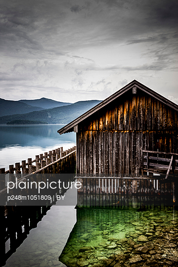 Walchensee - p248m1051809 by BY