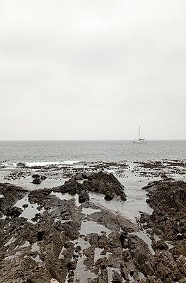 Yacht auf dem Atlantik - p1248m1503214 von miguel sobreira