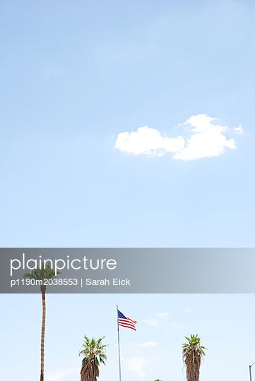 Himmel und Palme - p1190m2038553 von Sarah Eick