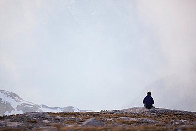 Alone - p842m890990 by Renée Del Missier