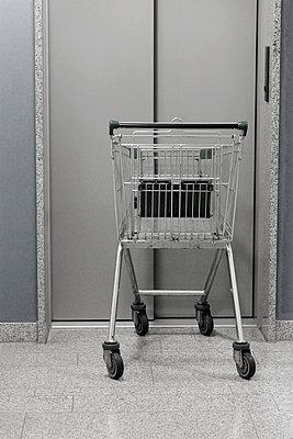 Einkaufswagen   - p450m1128455 von Hanka Steidle