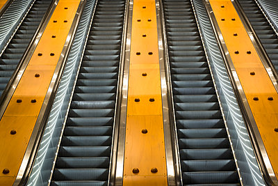 Escalator, Sydney - p1170m2045740 by Bjanka Kadic