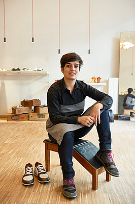 Shoemaker - p1203m1025912 by Bernd Schumacher
