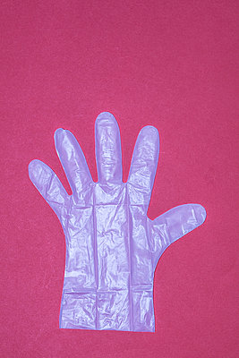 Plastic Glove - p1082m2021567 by Daniel Allan