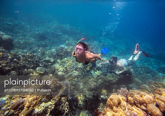 Snorkeling in Indian ocean - p1108m1104692 by trubavin