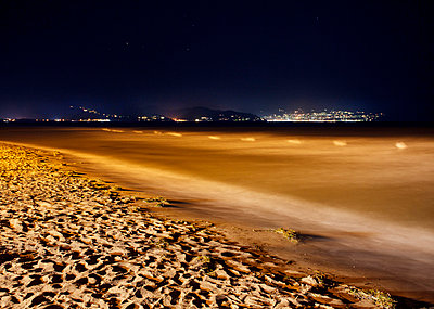 Beach at night - p228m716089 by photocake.de