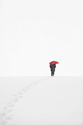 Snow storm - p1312m2054969 by Axel Killian