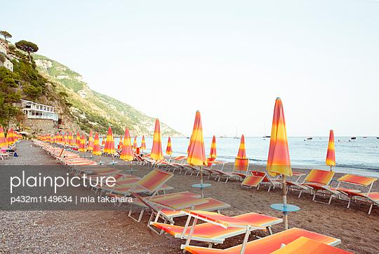 Strand in Positano - p432m1149634 von mia takahara
