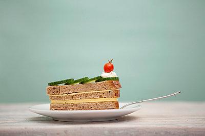Sandwich Torte - p4540577 von Lubitz + Dorner