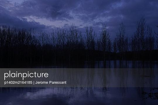 Überschwemmung in Chacé - p1402m2164185 von Jerome Paressant