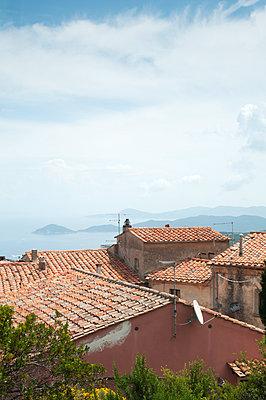 Über den Dächern, Elba - p171m1041677 von Rolau