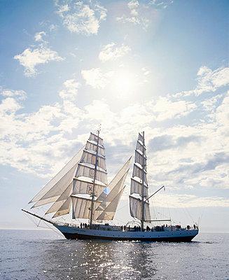 Sailing ship - p3221049 by matti kolho