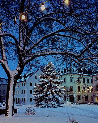 Weihnachtsbeleuchtung - p1016m792614 von Jochen Knobloch