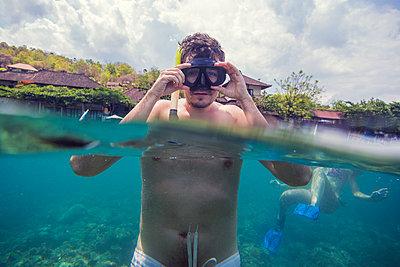 Snorkeling in Indian ocean - p1108m1104688 by trubavin