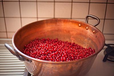 Marmelade kochen - p1513m2043940 von ESTELLE FENECH
